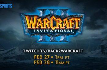 Η Blizzard φέρνει το WarcraftIIIInvitational